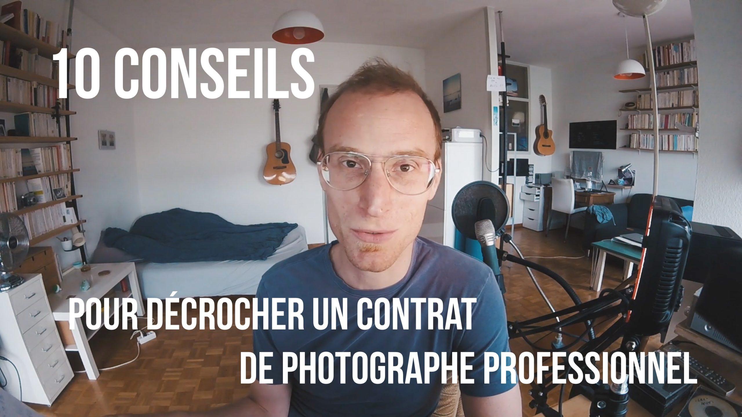 10 conseils contrat photographe professionnel